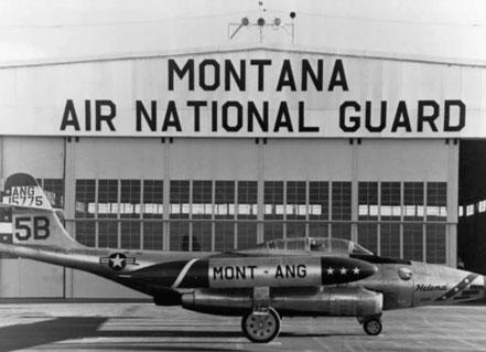 F-89C Montana ANG at Great Falls 1960s