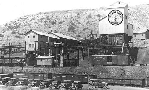 Smith Mine No. 2 in Carbon County during the pre-World War II era