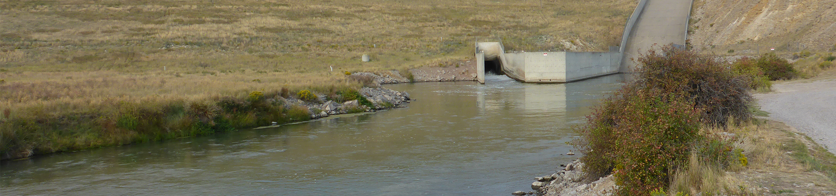 Beaverhead River and Clark Canyon Dam