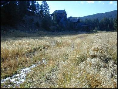 Big Ox Mill Site, Lewis and Clark County, 2004, one year after reclamation.