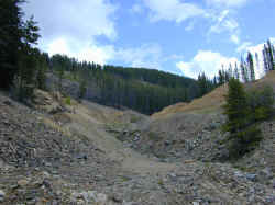 Tailings Slide Area