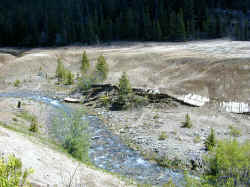 Eroding Mill Tailings