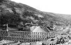 Drumlummon Mine and Northern Pacific Trestle, 1894