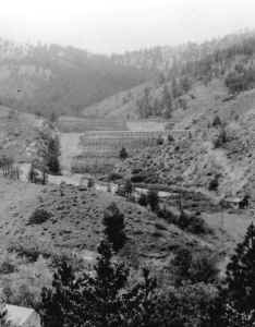 Spring Hill tailings impoundment, 1939