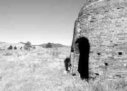 Wickes charcoal kilns, July 2000