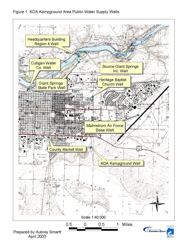 Great Falls KOA Kampground Source Water Delineation and Assessment