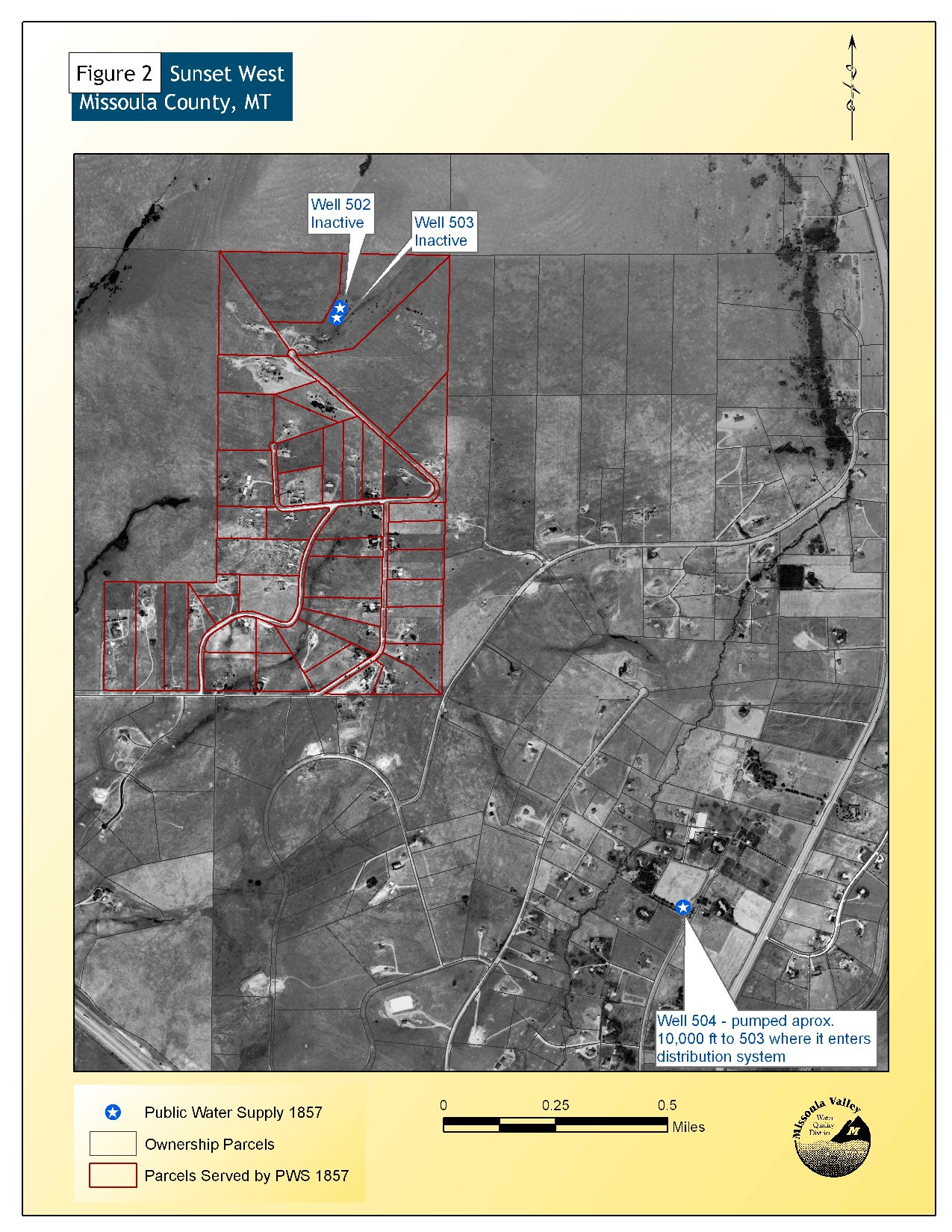 Sunset West Homeowners Association Source Water Delineation