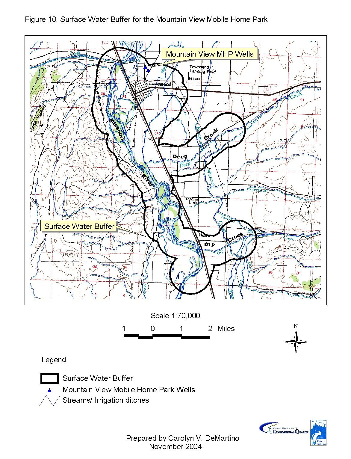 Mountain View Mobile Home Park Source Water Delineation