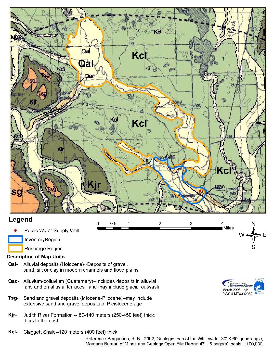 Whitewater School District 20 AA D Source Water Delineation