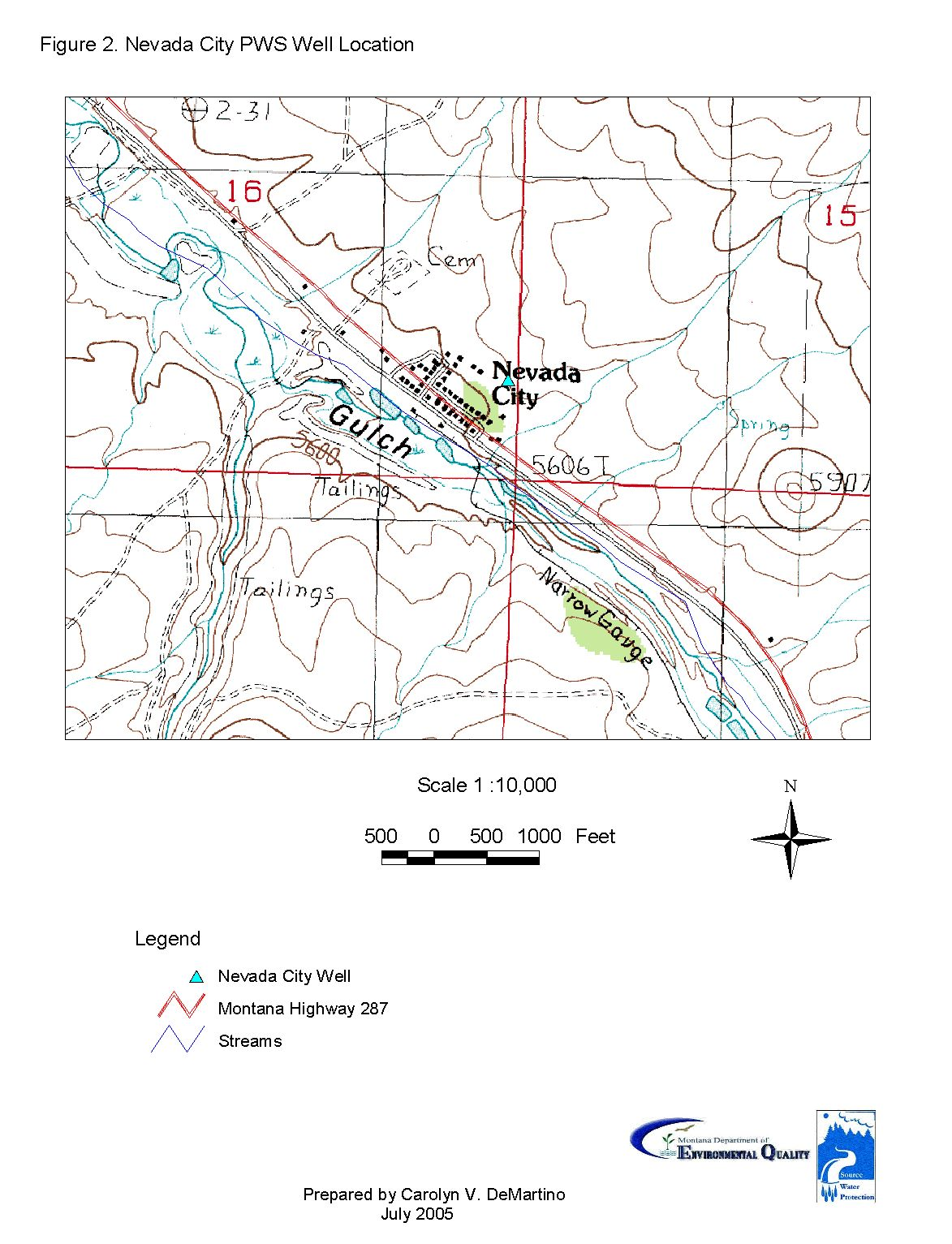 Nevada City Source Water Delineation And Assessment Report