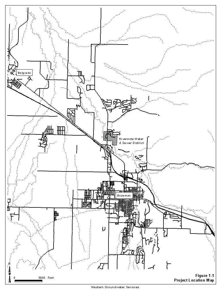 Riverside Water Sewer District Source Water Delineation And