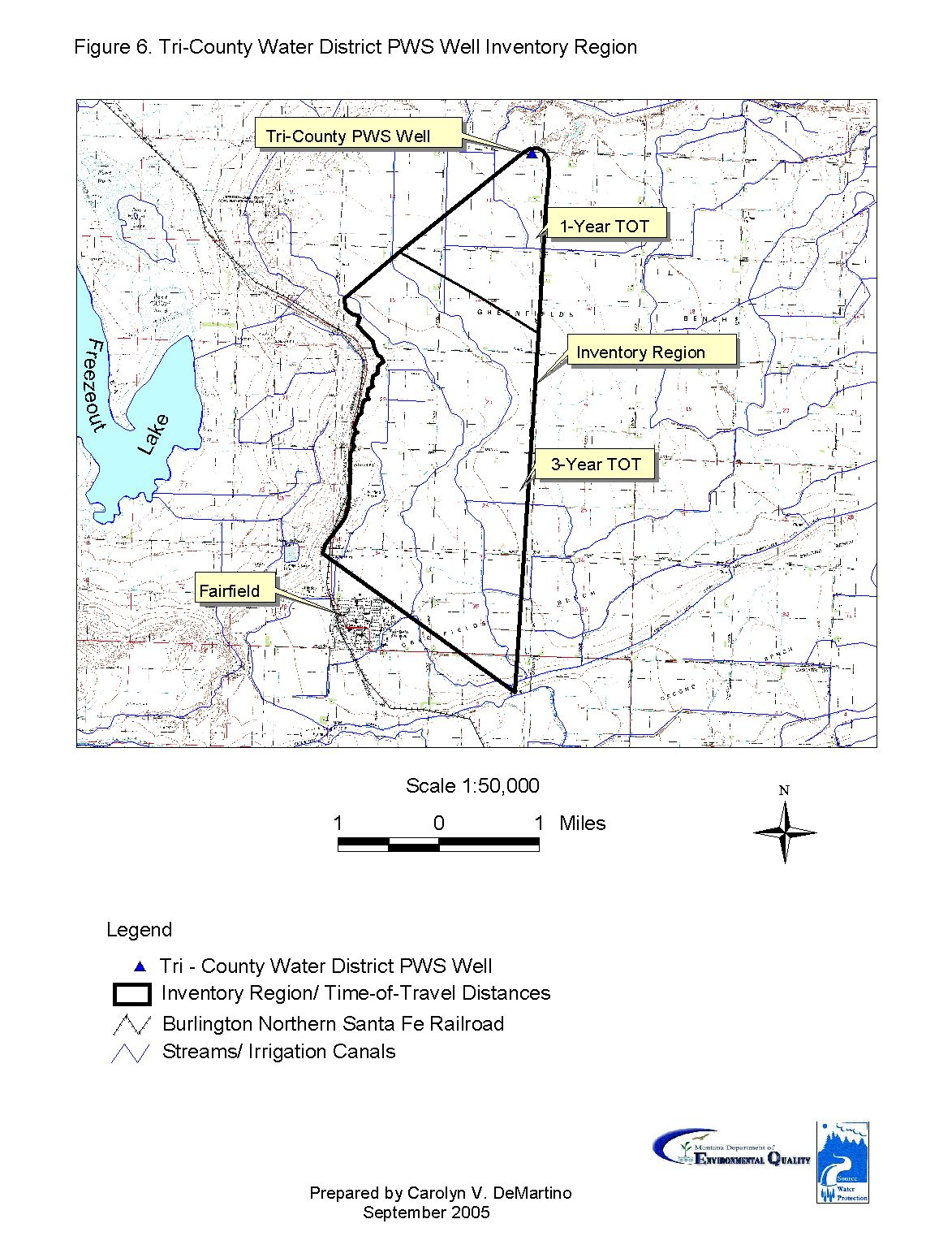 Tri-County Water District Source Water Delineation & Assessment Report