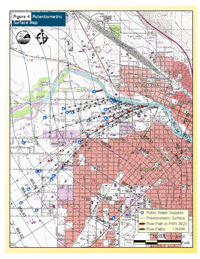 Montana DNRC Missoula Source Water Delineation & Assessment