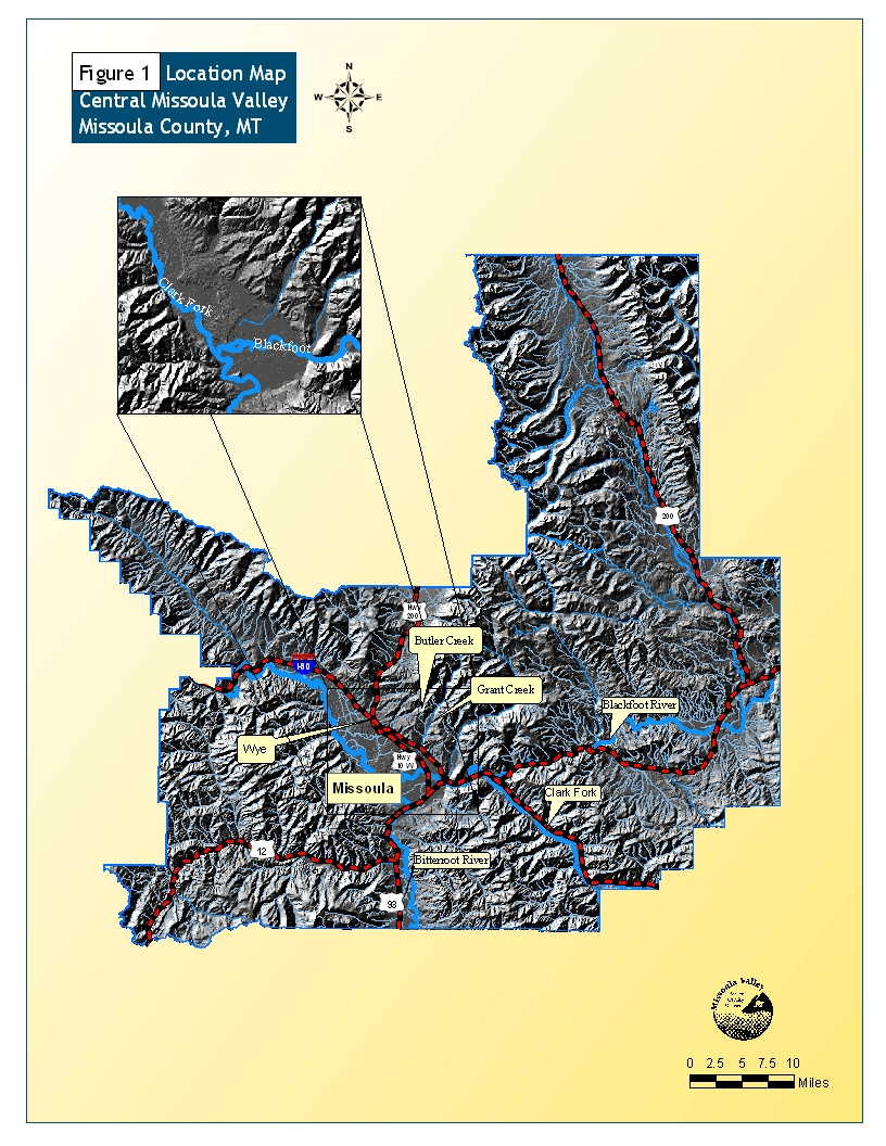 Montana DNRC Main Office Source Water Delineation