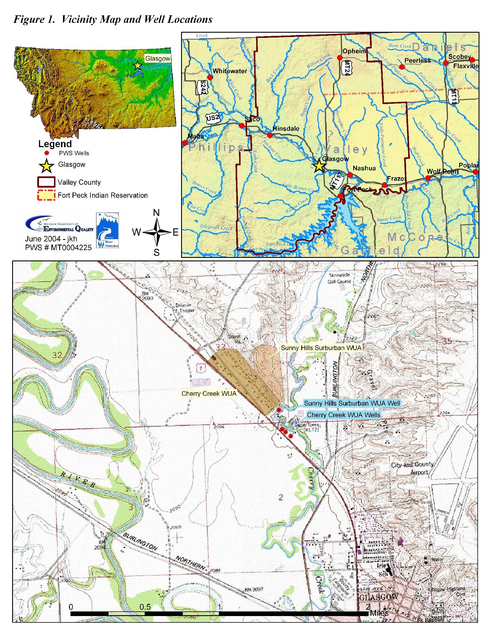 Montana Deq Source Water Assessment Sunny Hills Suburban Wua Sunburst