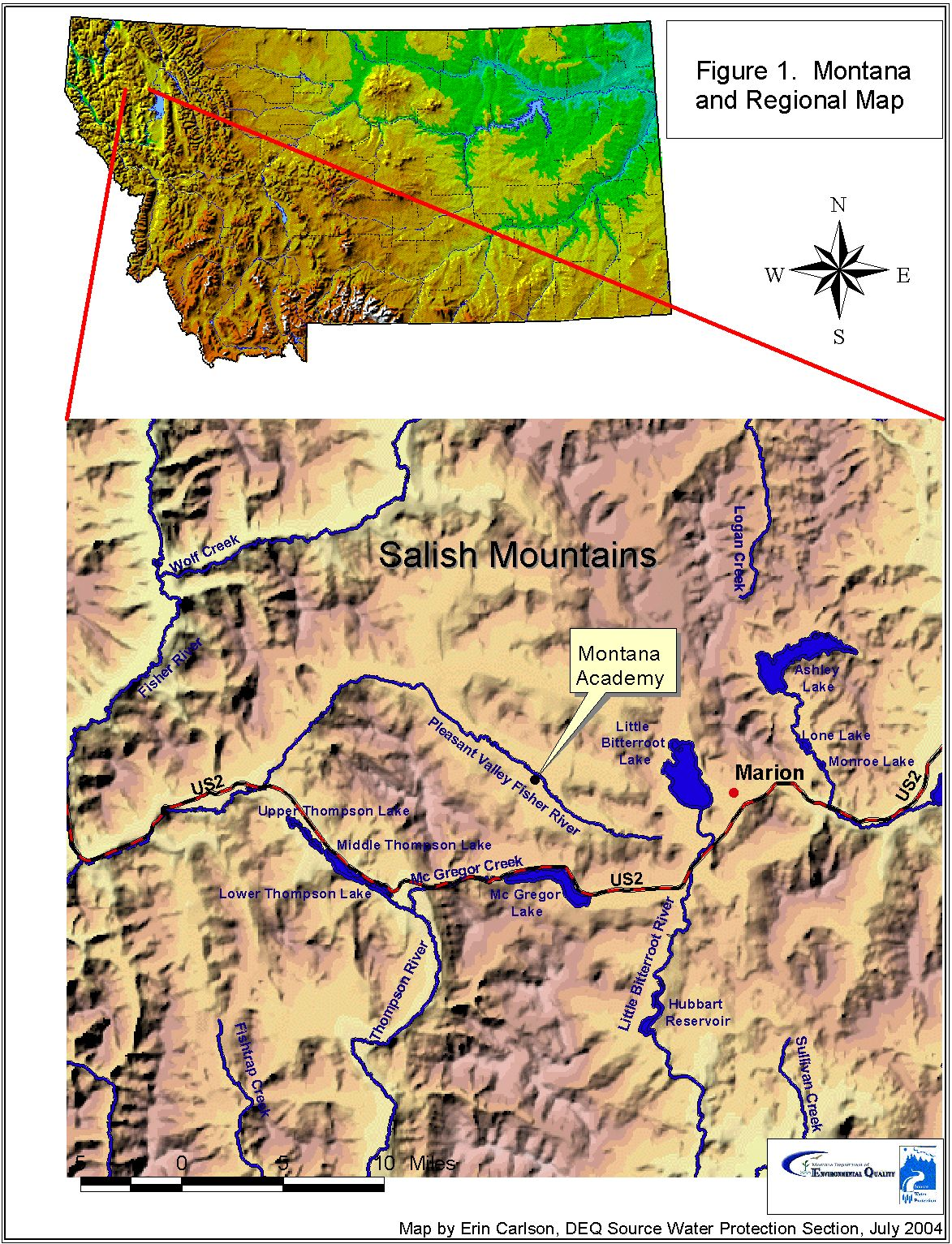 Montana Academy Source Water Delineation & Assessment Report
