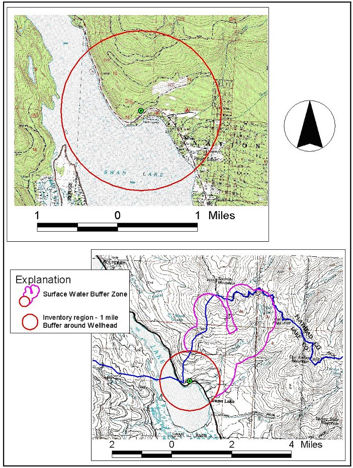 Swan Lake Montana Map.Swan Lake Annex Campground Source Water Delineation And Assessment