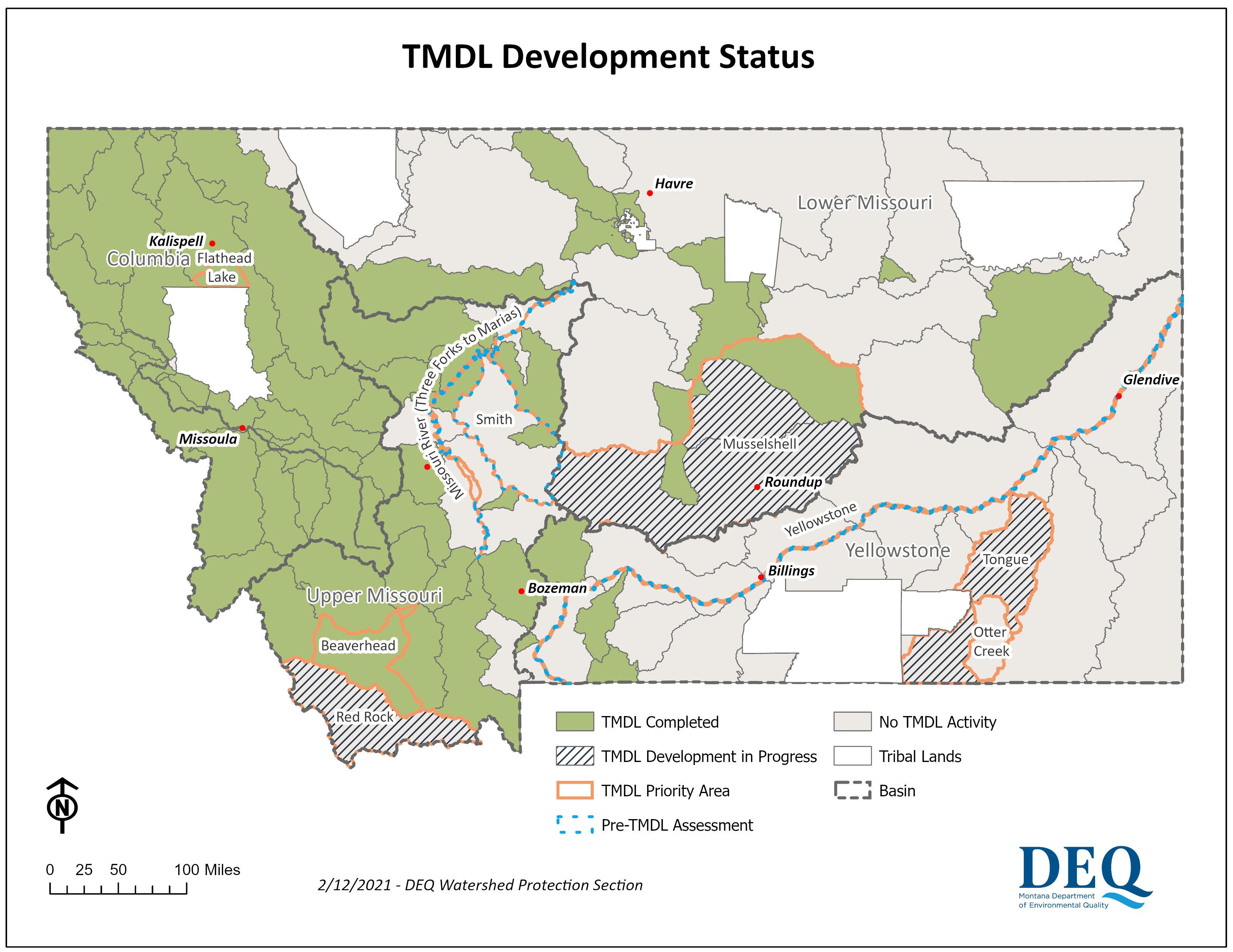 TMDL Project Map